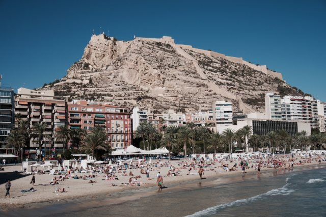 alicante scenery travel