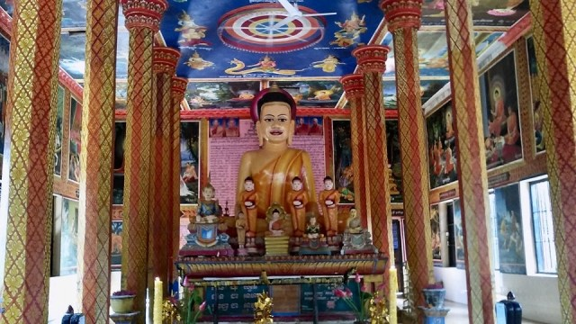 cambodia siem reap travel buddhism