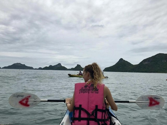 kayak thailand travel