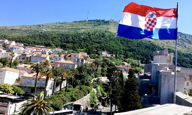 croatia flag travel