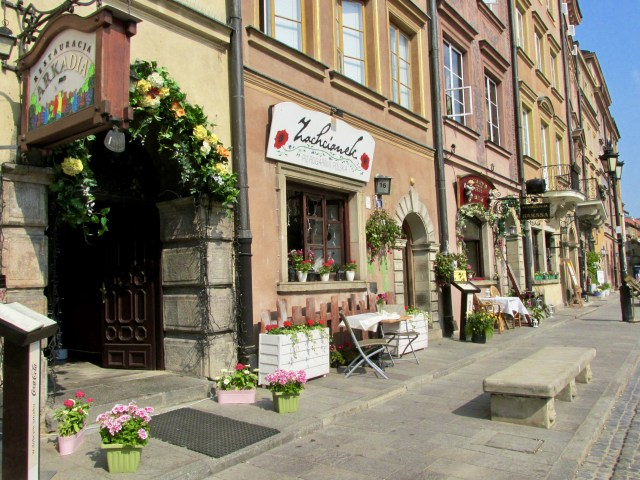 travel hacks for europe, budget travel tips, Warsaw old town Poland