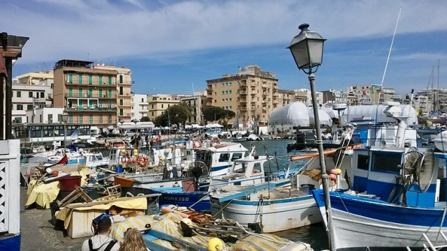 seaside town of Anzio, Italy