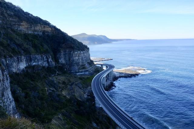 sea cliff bridge Australia travel photo