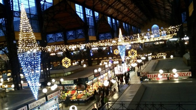 central market hall Budapest budget travel guide