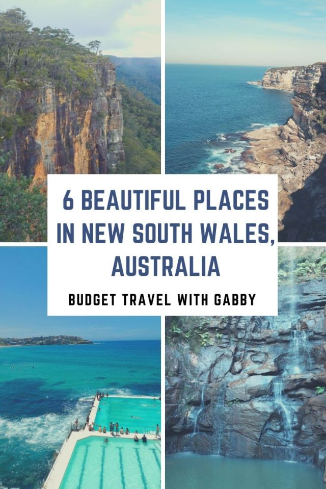 6 BEAUTIFUL PLACES IN NEW South Wales AUSTRALIA