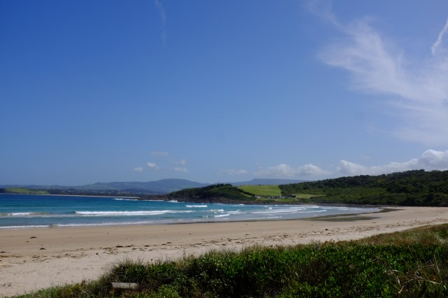 killalea state park new South Wales Australia surfing beach