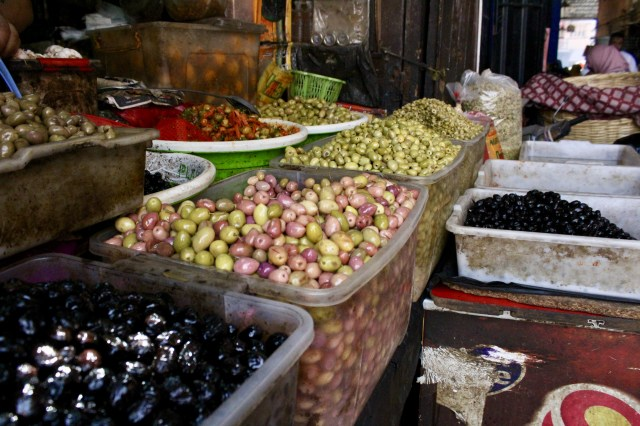 marrakech morocco olives