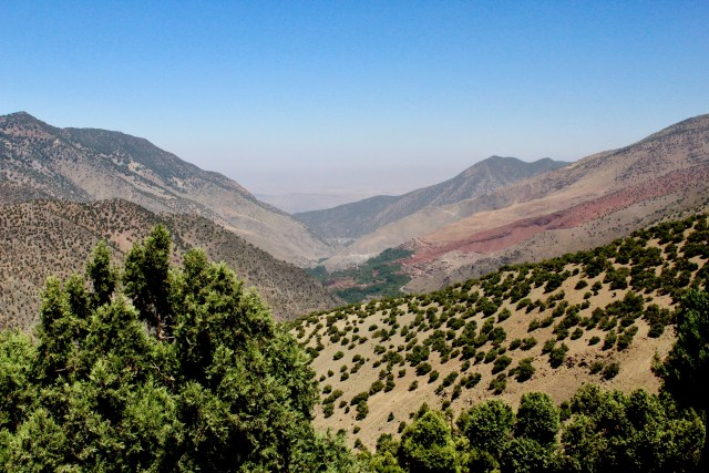 valley views hike imlil Morocco budget travel guide