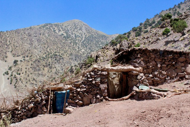 village stone houses imlil Morocco budget travel guide