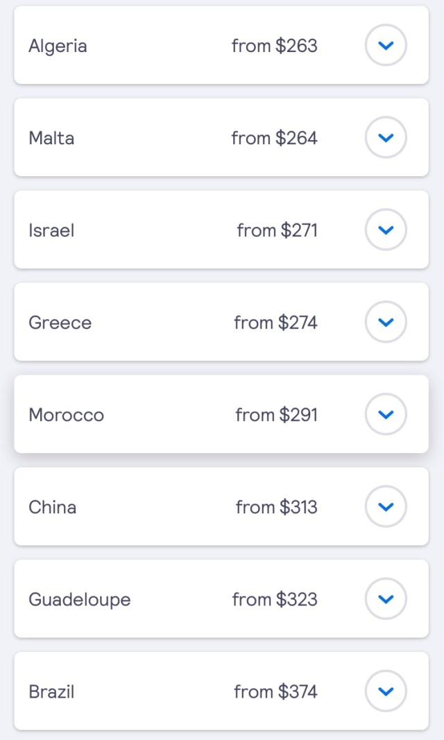 skyscanner bos to china and brazil
