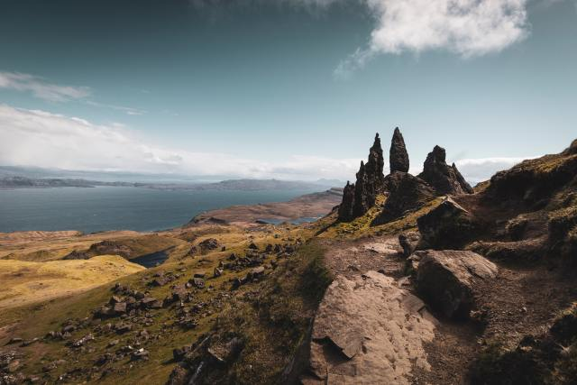 old man of Storr isle of Skye scotland