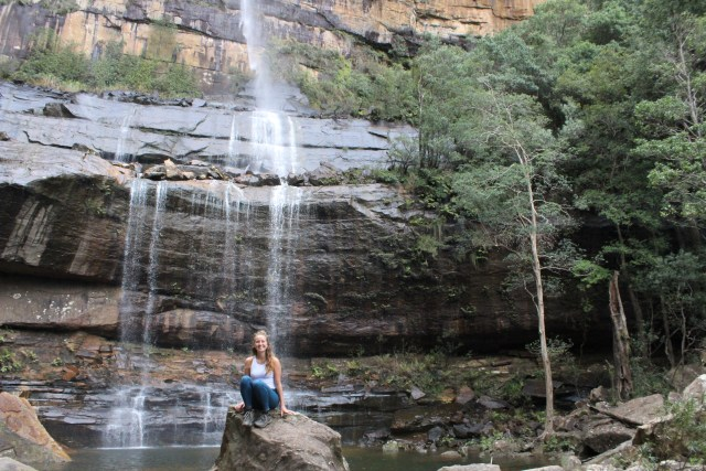 day hikes in the blue mountains Wentworth Falls travel photo