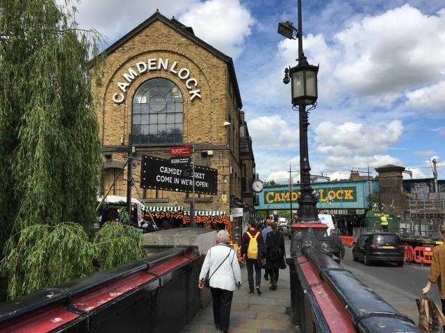 Camden town for London on a budget