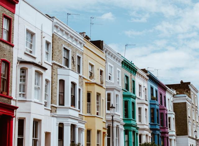 notting hill 3 days in London on a budget