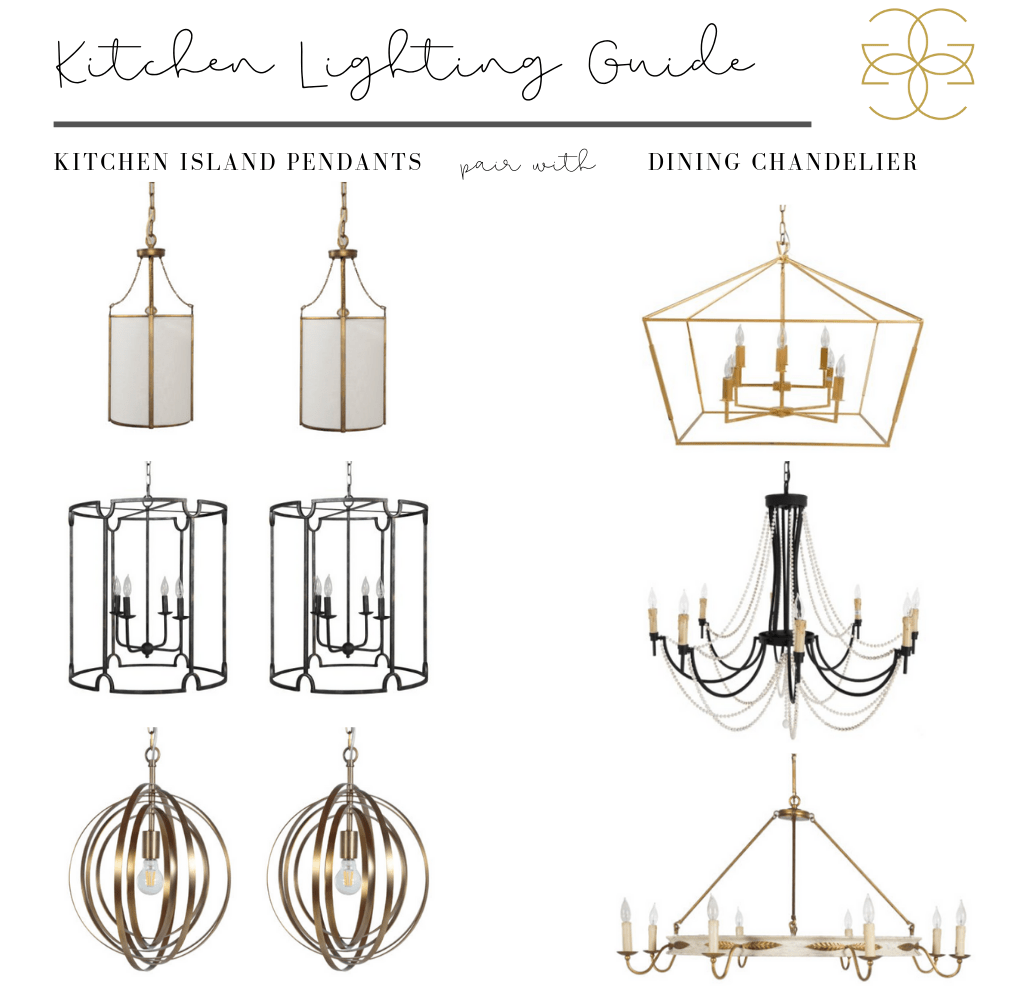 how to pair kitchen and dining lights