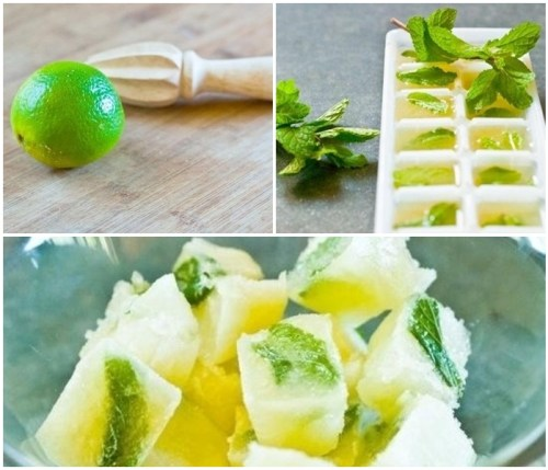 Cibitos de hielo sabor limonada