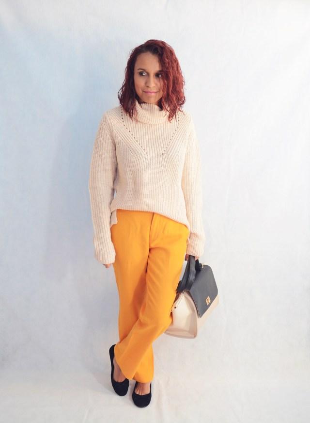Combina pantalones naranja 4