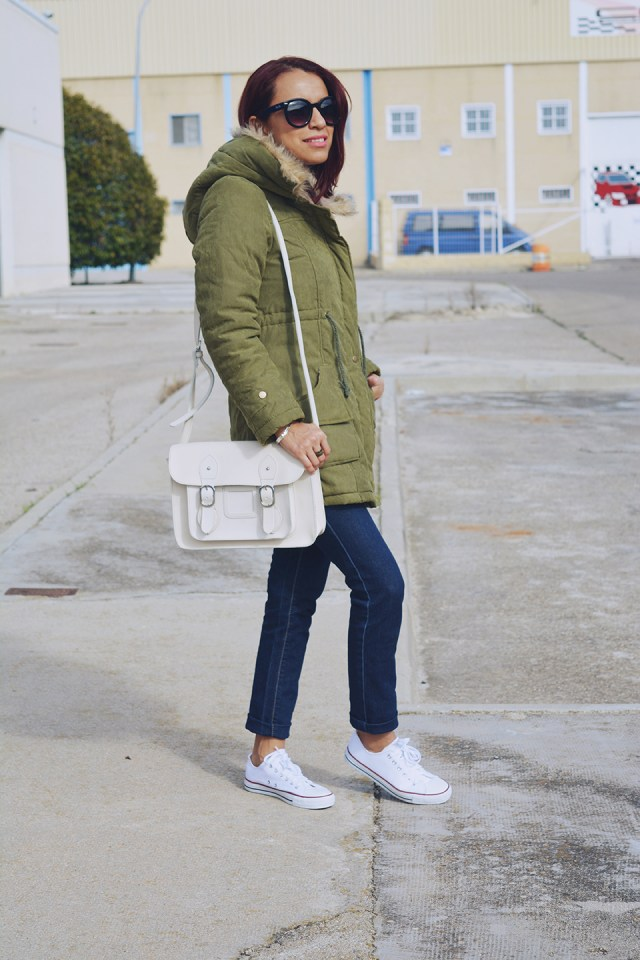 Look casual con parka 3