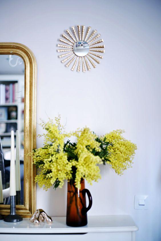 Salón con dorado