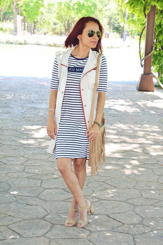 Vestido de rayas 2