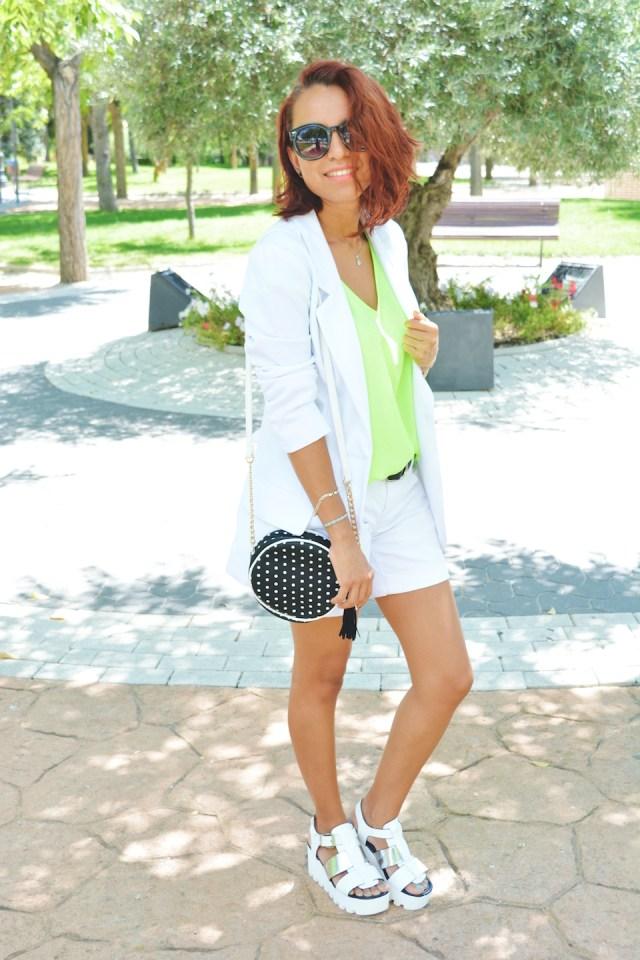 Look blanco y Neon 5