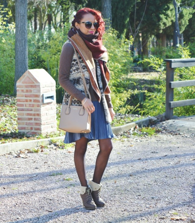 look-con-falda-de-terciopelo-4