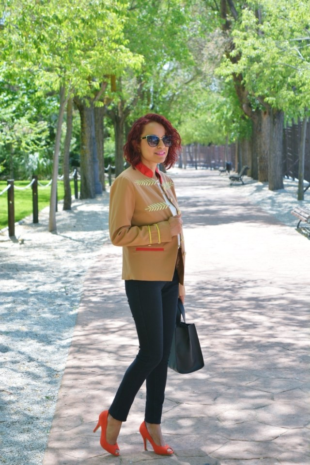 Look casual chaqueta marinera