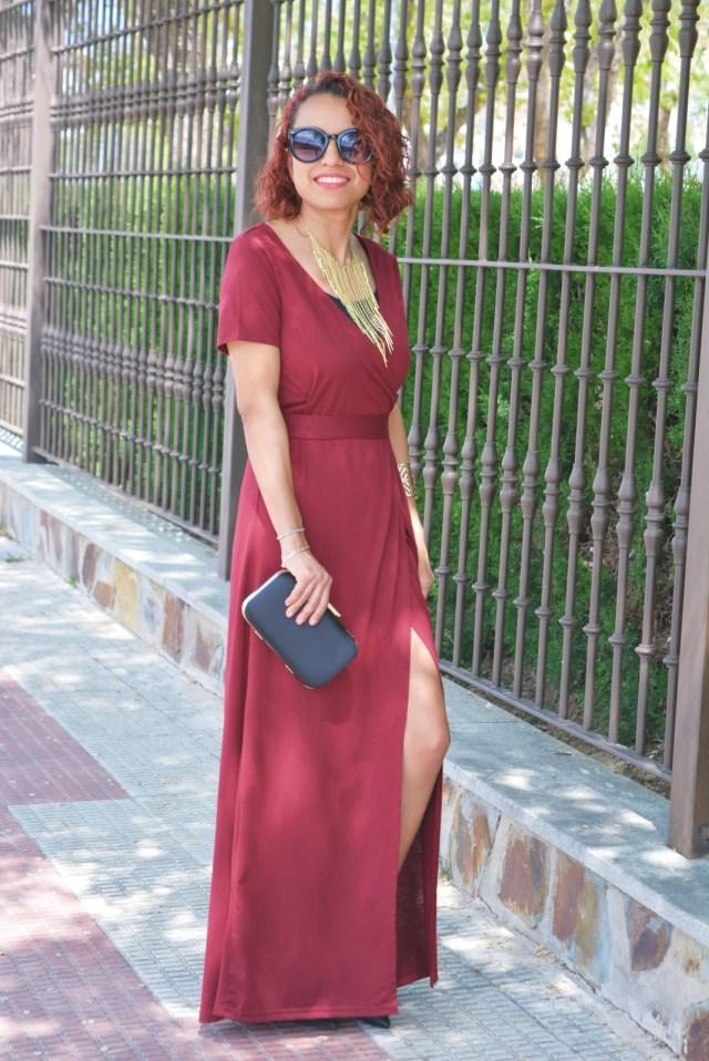 Vestido rojo Shein