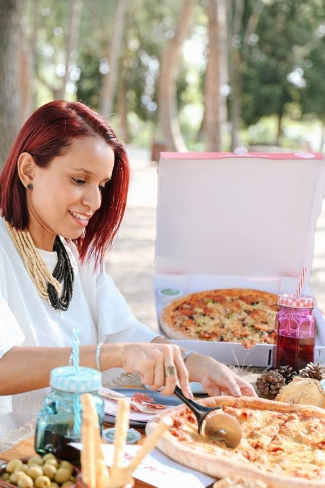 Gabbysweetstyle Picnic Pizza Papa Jhons