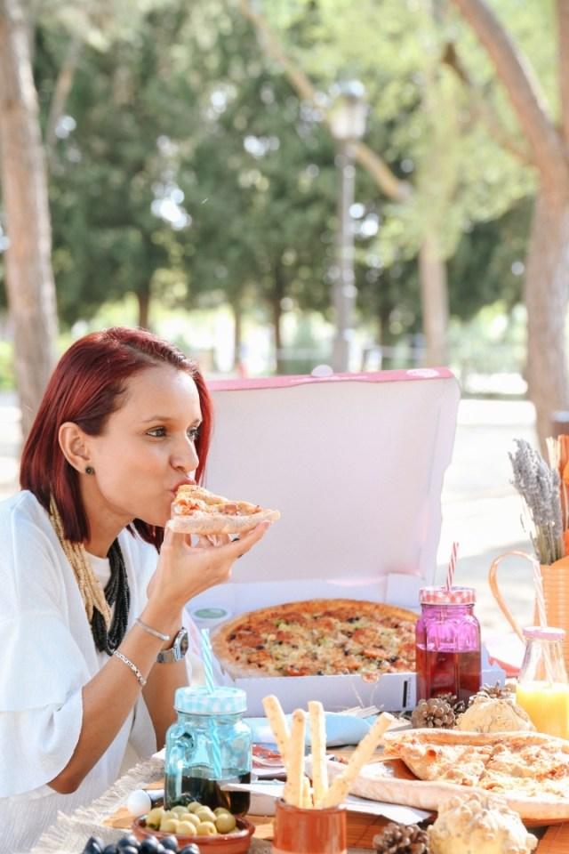 Tarde de Pizza con Gabbysweetstyle