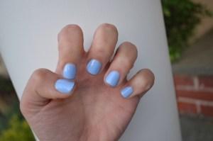 nail color: 'bikini so teeny' by essie