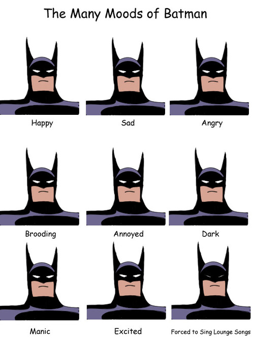 the many moods