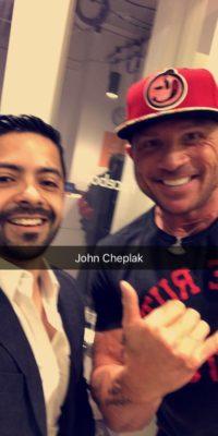 With John Chaplak