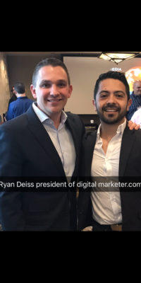 With Ryan Deiss in Austin