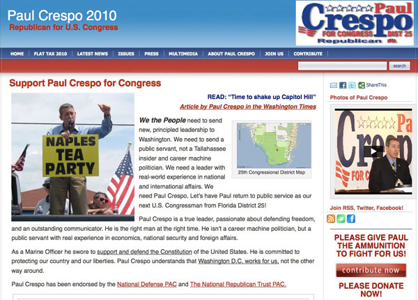 Paul Crespo for Congress 2010