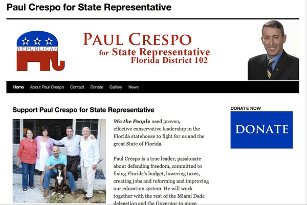 Paul Crespo for State Representative 2011