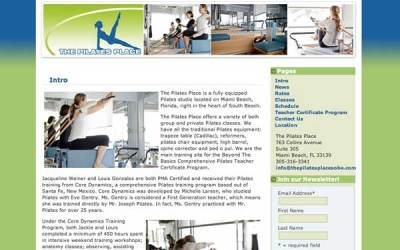 The Pilates Place on South Beach