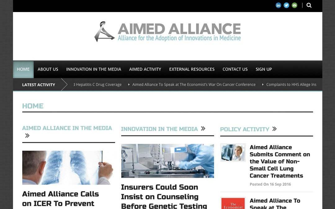 Alliance for the Adoption of Innovations in Medicine (AIMED Alliance)