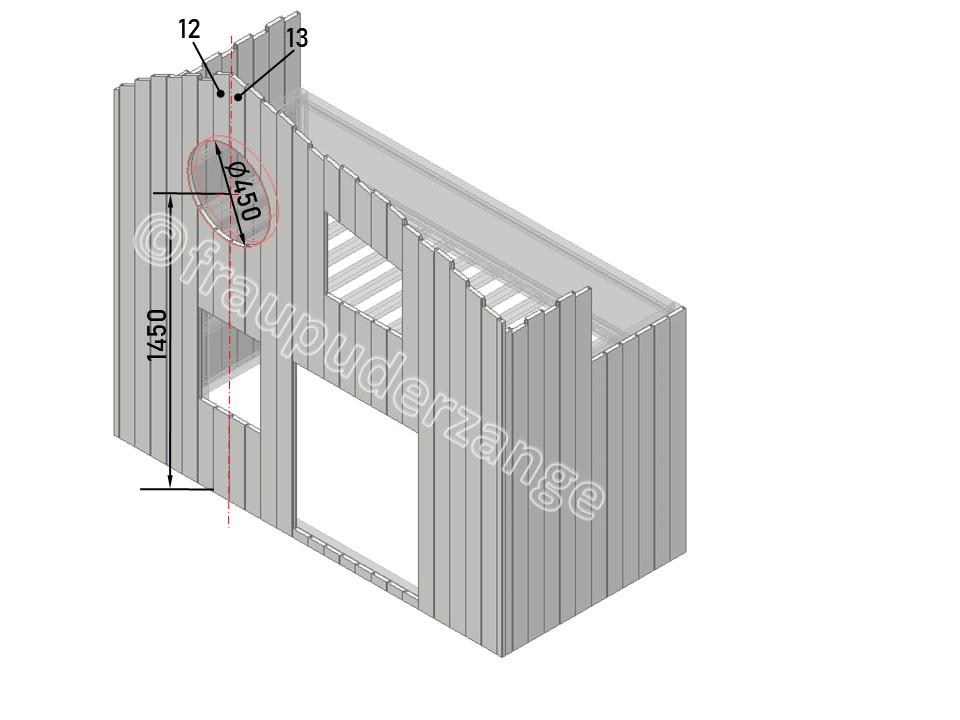 Ikea Hochbett kura hack 9