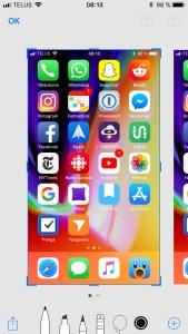iOS 11 screenshot Apple