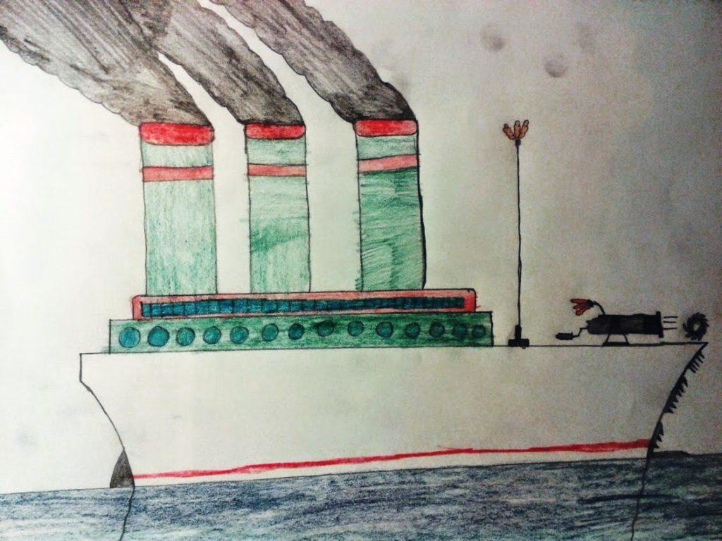 Obraznicaturi: Titanic