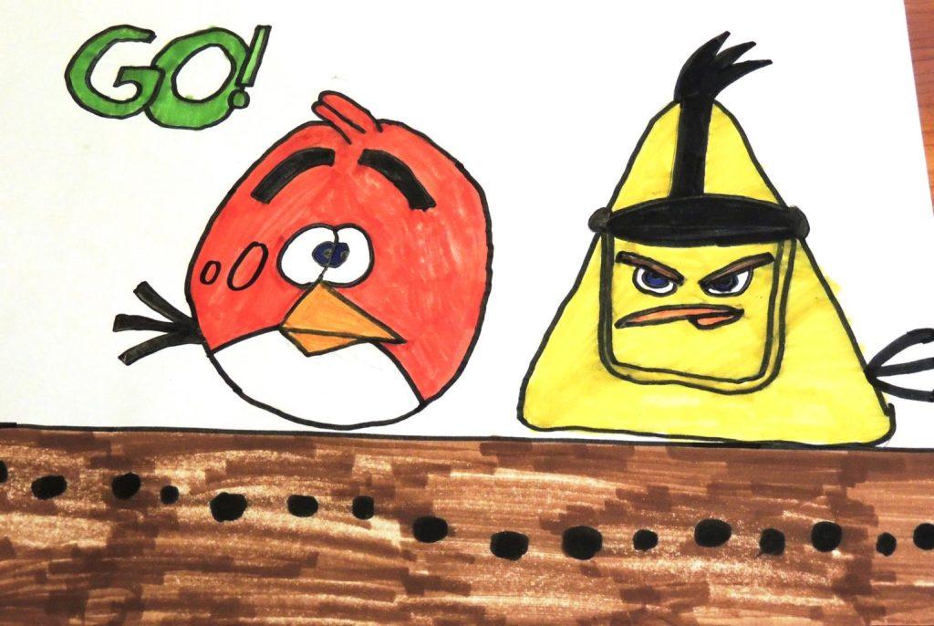 Obraznicaturi: Angry Birds2