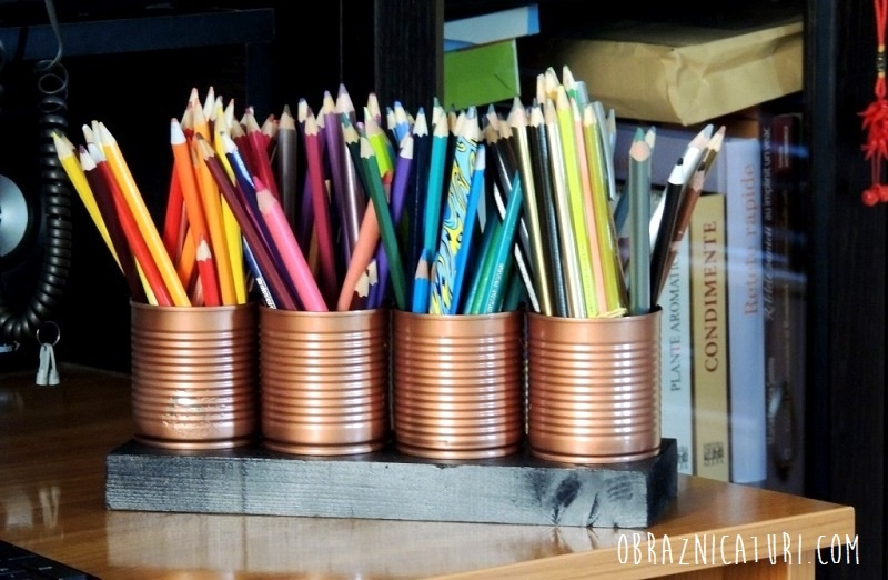 Obraznicaturi: suport creioane