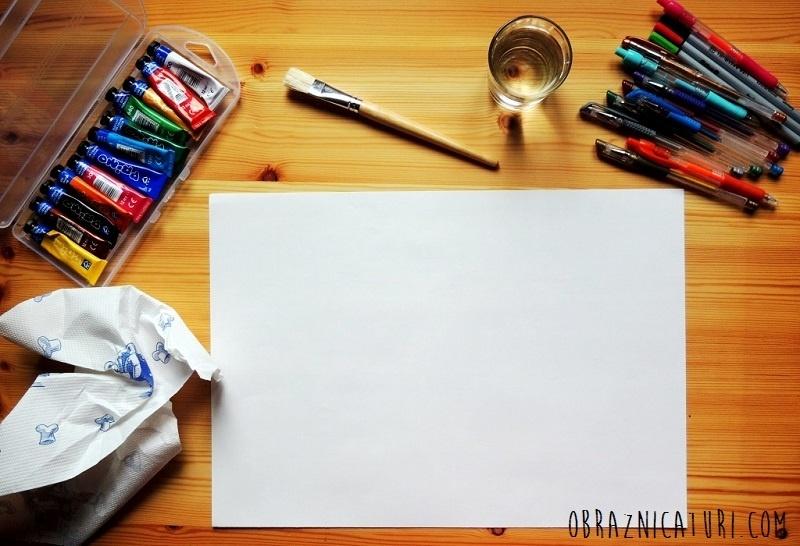 Obraznicaturi - tablou naiv