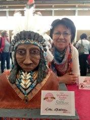 Kuchemesse Indianer Gabi Greindl