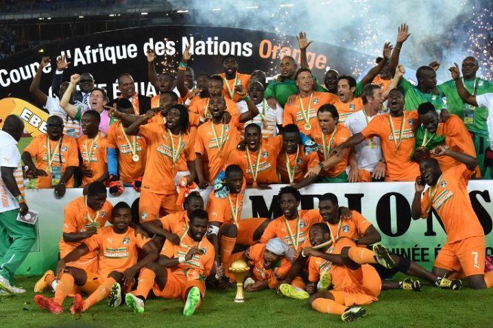 la Côte d'Ivoire championne d'Afrique, 23 ans après son 1er trophée