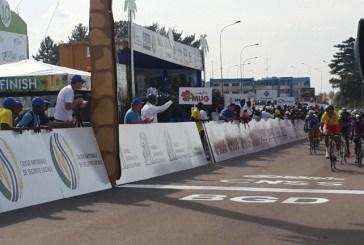 2ème étape  de la Tropicale Amissa Bongo 2015 : le tunisien Chtioui conserve  le maillot jaune