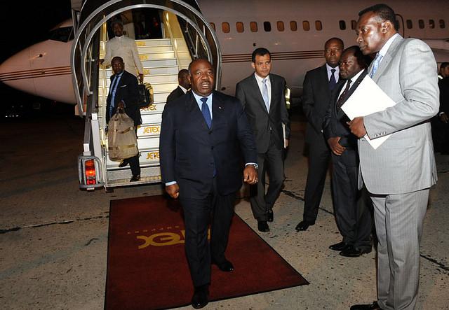 Ali Bongo ne fera pas de déclaration à la sortie de l'Elysée