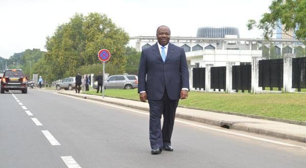 Ali Bongo s'offre une agréable balade à Libreville