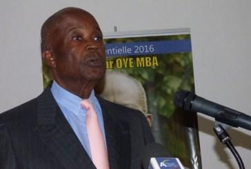 Casimir Oyé Mba présente un projet de société en 33 engagements